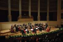 The Strauß Festival Orchestra in the Vienna Konzerthaus under the baton of Willy Buechler